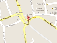 place-duclos-google-map